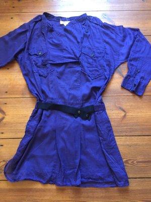 Étoile Isabel Marant: Blaues Kleid mit Gürtel, Gr. 2/ M/ 38