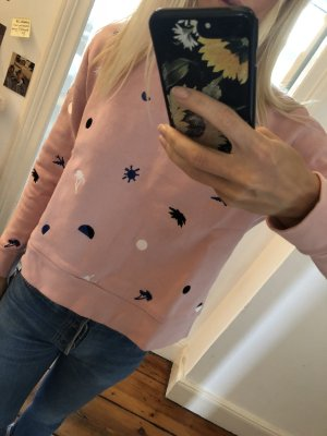 Etre Cecil Sweater Rose bestickt Stickereien in L Pullover