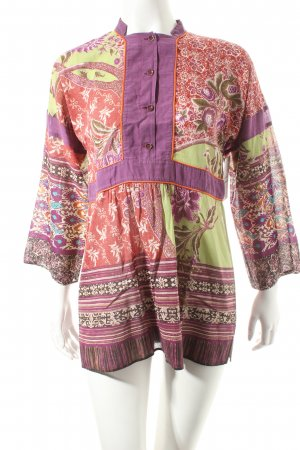 Etro Bluse abstraktes Muster Street-Fashion-Look