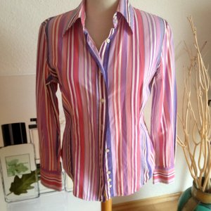 ETRO Bluse, lila-pink-rosa-weiss, Gr 36