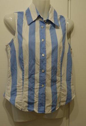 ETRO Bluse Shirt Gr. 36/38 made in Italy Marine Sailor Retro Style Streifen