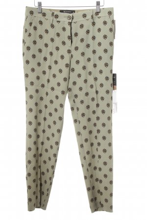Etro Pleated Trousers allover print business style