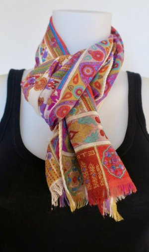 Etro Cravate ascot multicolore