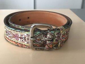 Etro Leather Belt multicolored leather
