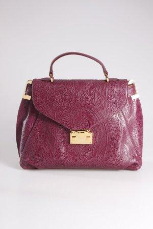 Etro Handtasche Paisley lila