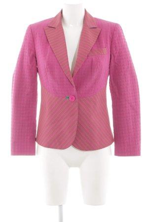 Etro Kurz-Blazer pink Allover-Druck Casual-Look