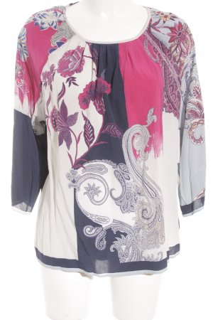 Etro Langarm-Bluse abstraktes Muster Casual-Look
