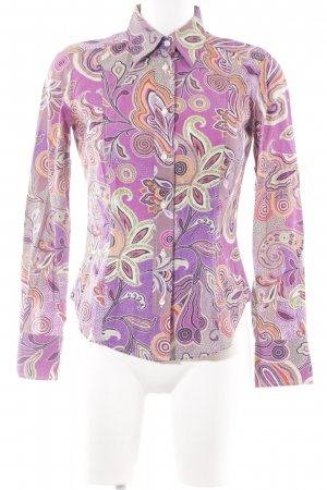 Etro Langarm-Bluse abstraktes Muster extravaganter Stil