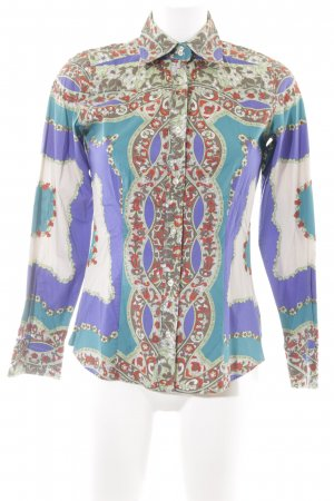 Etro Long Sleeve Blouse abstract pattern extravagant style