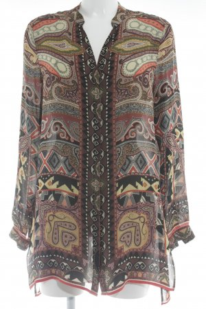 Etro Langarm-Bluse mehrfarbig Street-Fashion-Look