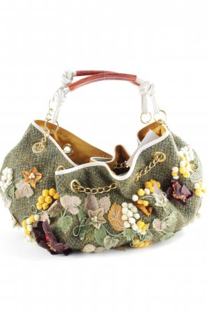 Etro Milano Pouch Bag flower pattern Boho look