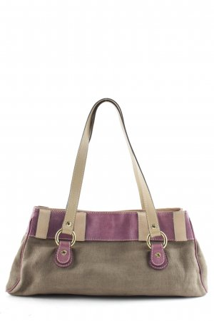 Etro Milano Carry Bag grey lilac-ocher '70s style