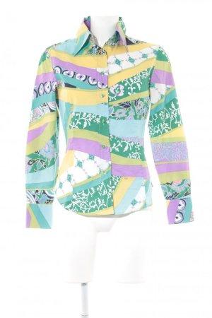 Etro Milano Langarmhemd mehrfarbig extravaganter Stil