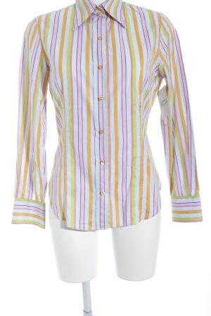 Etro Milano Langarmhemd Streifenmuster extravaganter Stil