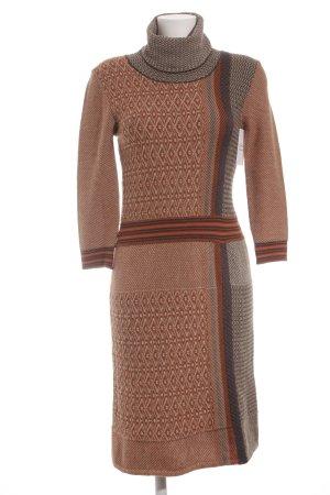 Etro Milano Vestido de lana estampado a cuadros look retro