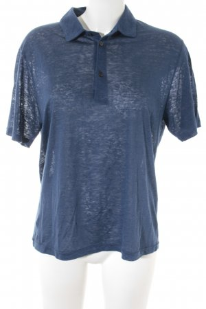 Etro Polo-Shirt dunkelblau Casual-Look