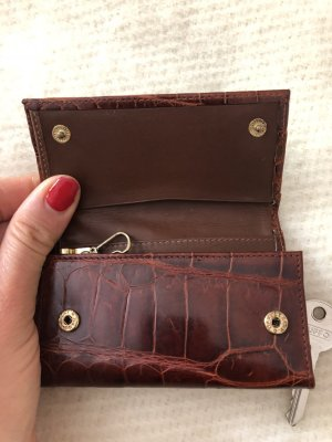 Etro Key Chain cognac-coloured