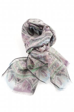 Etro Silk Scarf mixed pattern casual look