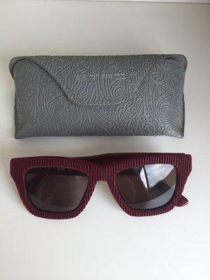 Etro Sonnenbrille mit Stoffbezug.