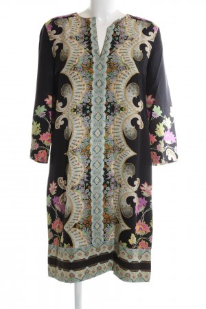 Etro Tunic Dress black abstract pattern casual look