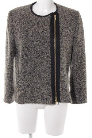 Etro Übergangsjacke schwarz-graubraun Casual-Look