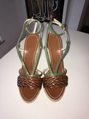 Etro Wedge Sandals multicolored