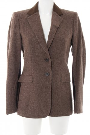 Etro Blazer in lana bronzo-marrone stampa integrale stile professionale