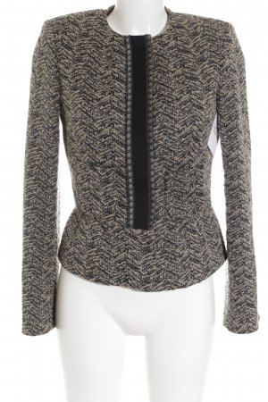 Etro Wool Blazer black-sand brown Brit look