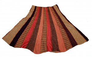 Etro Wool Skirt multicolored wool