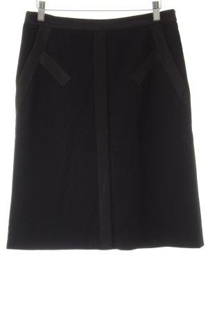 Etro Wollrock schwarz schlichter Stil
