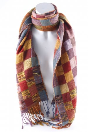 Etro Woolen Scarf check pattern casual look
