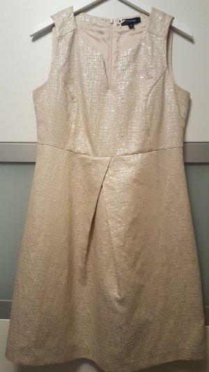 Midi Dress silver-colored cotton