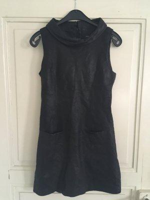 Hallhuber Leather Dress black