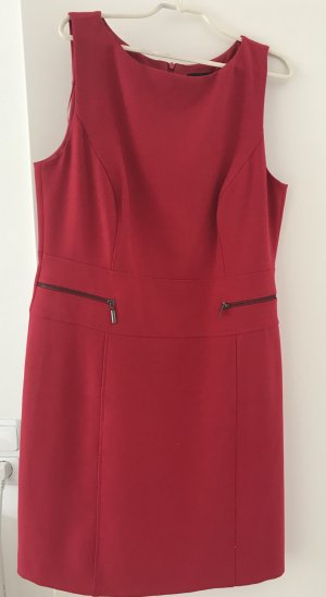 Comma Dress neon red