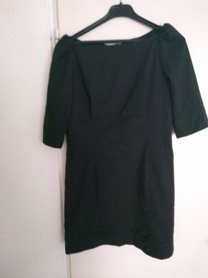 Sheath Dress black polyester