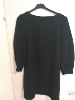 Etui Kleid schwarz ¾ Arm GR. 34/36  RV hinten, gefüttert