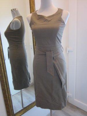 Etuie Kleid Schlammfarben Gr S 34/36