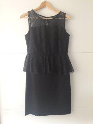 Bodyflirt Peplum jurk zwart