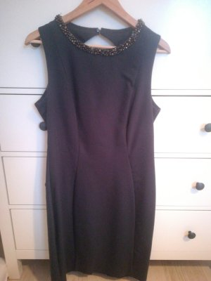 Hennes Collection by H&M Vestido ceñido de tubo gris oscuro