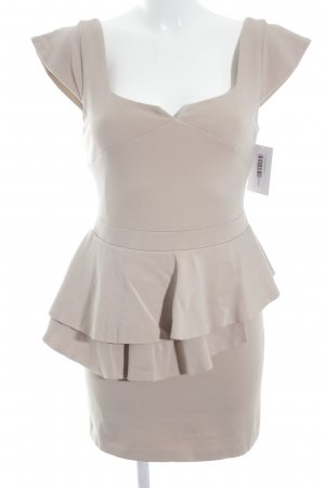 Sheath Dress beige elegant