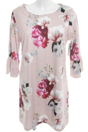 Sheath Dress flower pattern casual look
