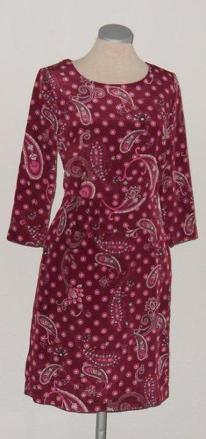 Etuikleid Business Büro langarm Kleid Gr. 34 XS Herbstkleid langarm goa Paisley