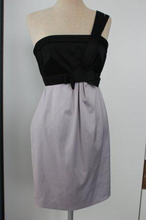 Etuikleid Cocktailkleid Kleid Minikleid Gr. 36 S flieder schwarz River Island