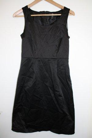 Etuikleid dress Keid Damen H&M Gr.38 Buisness glänzend schick Reißverschluss