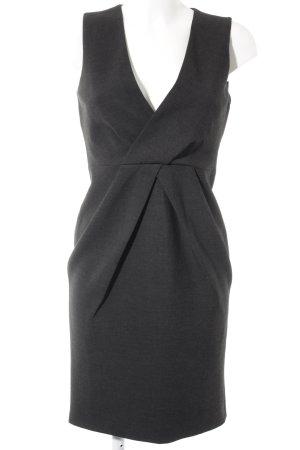 Vestido ceñido de tubo gris oscuro elegante
