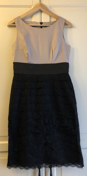 H&M Sheath Dress black-cream