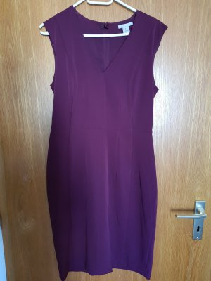 H&M Robe fourreau violet