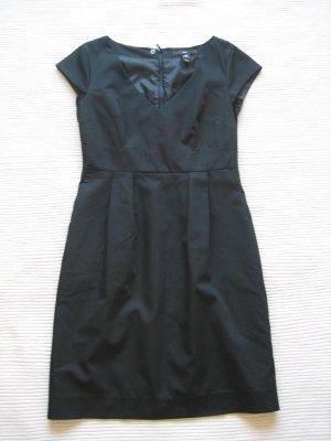 etuikleid H&M kleid schwarz business buero gr. s 36 neu