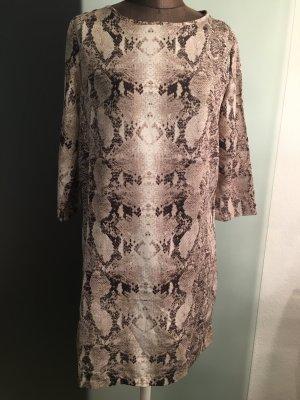 Etuikleid Kleid Gr 38 40 S M von Mango MNG Schlangen Muster