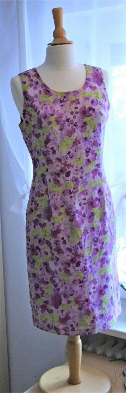 DeVille Robe fourreau multicolore tissu mixte